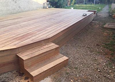Plancher de terrasse Ipé