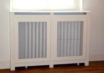 Cache-radiateur Médium, laqué blanc