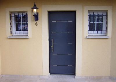 Porte d'entrée Alu, modèle tao