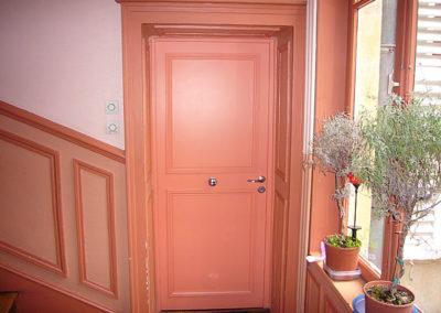 Porte intérieure coupe feu, à l'identique