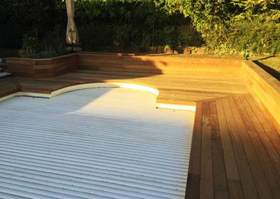 Plancher de terrasse Ipé massif