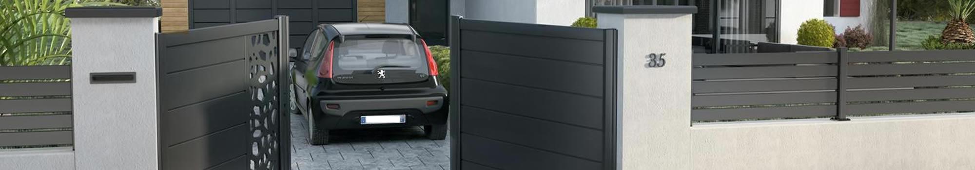 vente pose r paration de vos portails et cl tures menuiserie ade metz. Black Bedroom Furniture Sets. Home Design Ideas