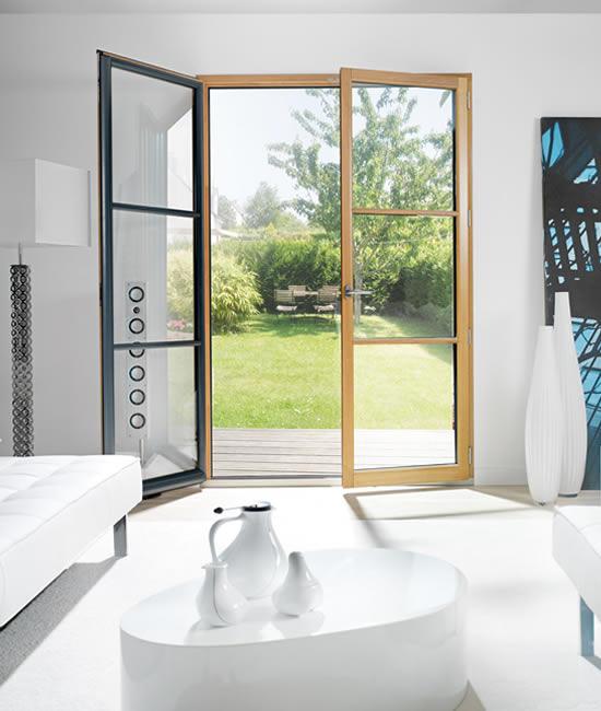 vente et pose de vos fen tres mixtes bois alu menuiserie ade metz. Black Bedroom Furniture Sets. Home Design Ideas