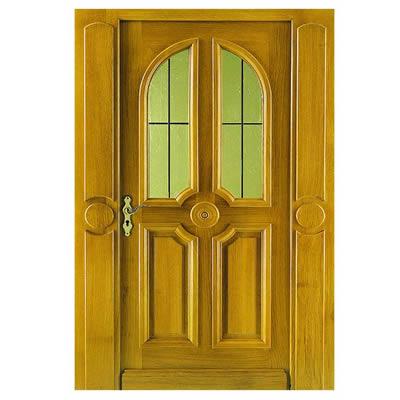 Vente et pose de votre portes d 39 entr e bois menuiserie - Heurtoir de porte d entree ...