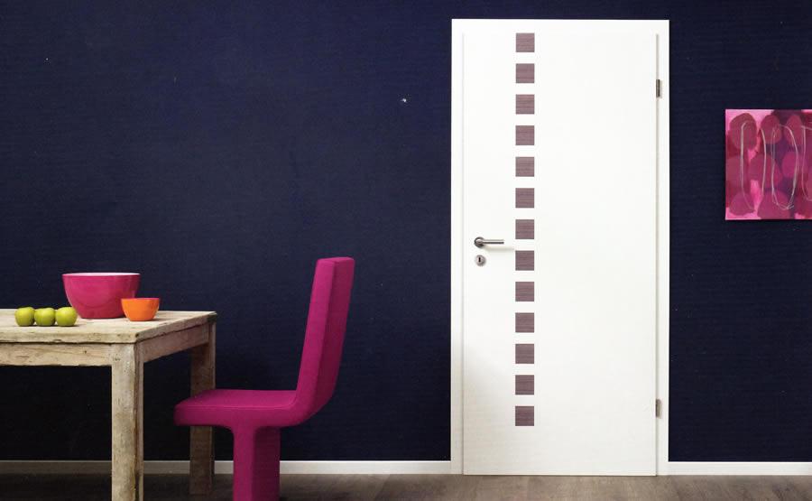 Portes d'intérieur contemporaines