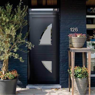 Portes d'entrée PVC design