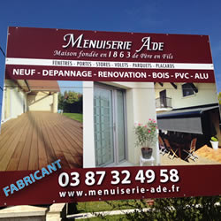 Menuiserie ADE