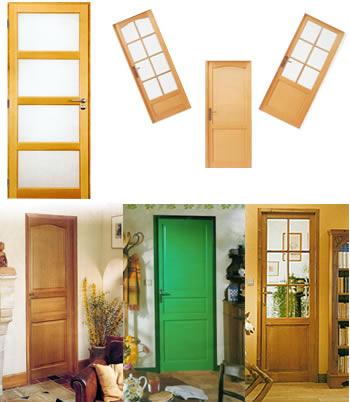 Portes d'intérieur classiques