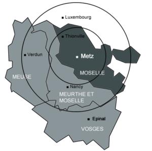 La menuiserie ADE intervient sur tout la Moselle, la Meuse et la Meurthe et Moselle